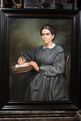 Ellen G White Portrait by Harry S Ahn