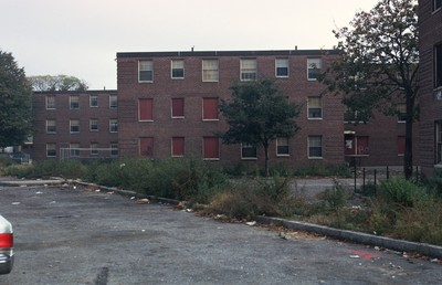 Public Housing Roger Williams South Providence by Chet