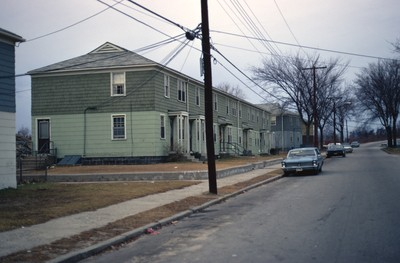 Public Housing Woonsocket Morin Heights by Chet Smolski