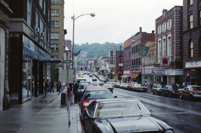 Morgantown High St by Chet Smolski