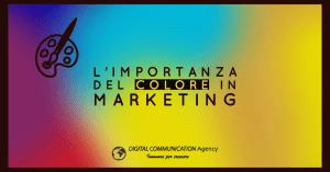 L'importanza del colore in marketing