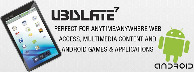 Aakash Android tablet - Ubislate7