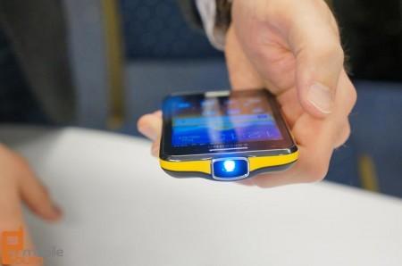 Samsung Galaxy Beam Projector Smartphone [MWC]