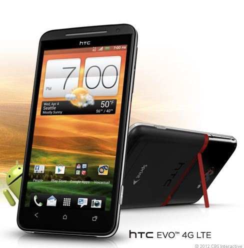 HTC Evo 4G LTE Android ICS on Sprint