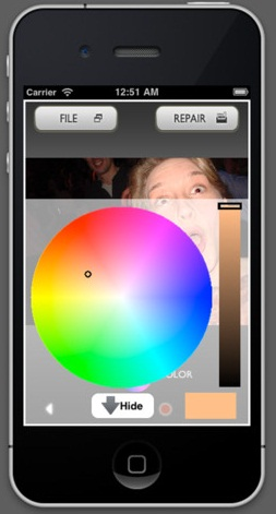 Phyxer iPhone App For Image Correction