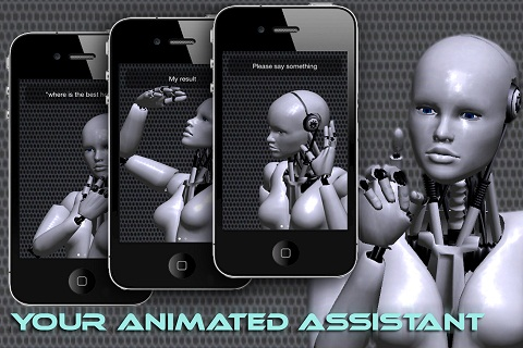 Voice Answer iPhone Animated Assistant