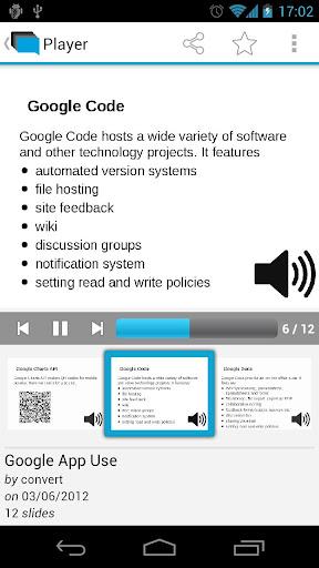 SlideSpeech App
