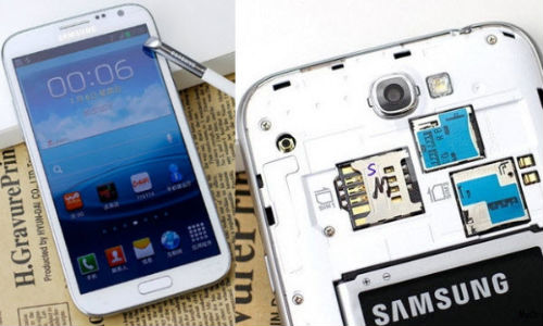 Samsung Galaxy Note II Not With Dual SIM