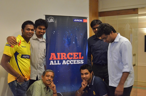 Aircel Announced Official Blogger For CSK