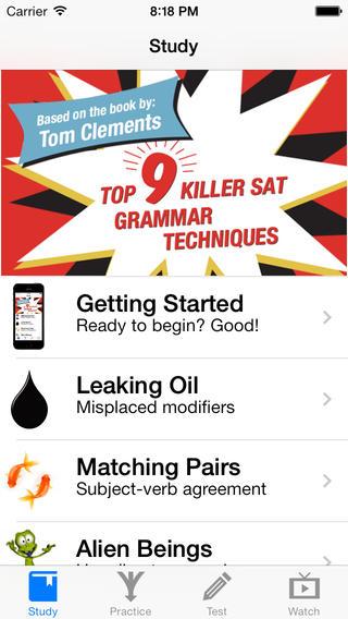 Killer SAT Grammar -1