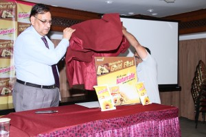 Mr.KS.Rao & Mr.Bala Subramanyam unveil the Naturralle Gold Fest