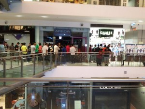 Midnight Launch-Oberoi Mall