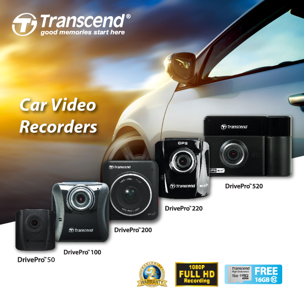 Transcend DrivePro - Car Video Recorders