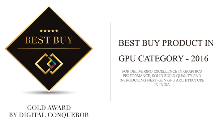 Galax GTX 1060 - Gold Award Winner
