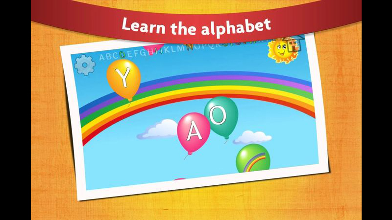 Learning App for Babies - Balloon Pop