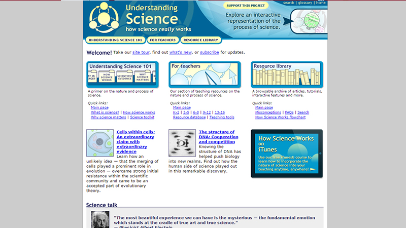 Science Related Website For Teachers