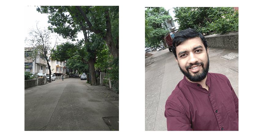 zenfone Max Pro m1 6 gb ram variant selfies