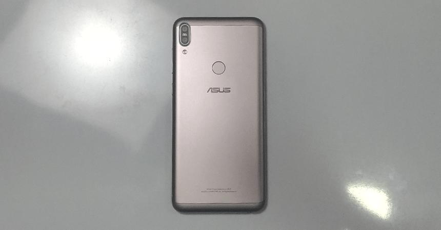 zenfone Max Pro m1 6 gb ram variant back