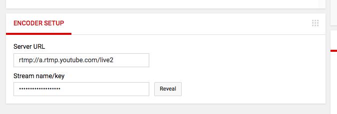 Live Stream PUBG on YouTube - Encoder Setup
