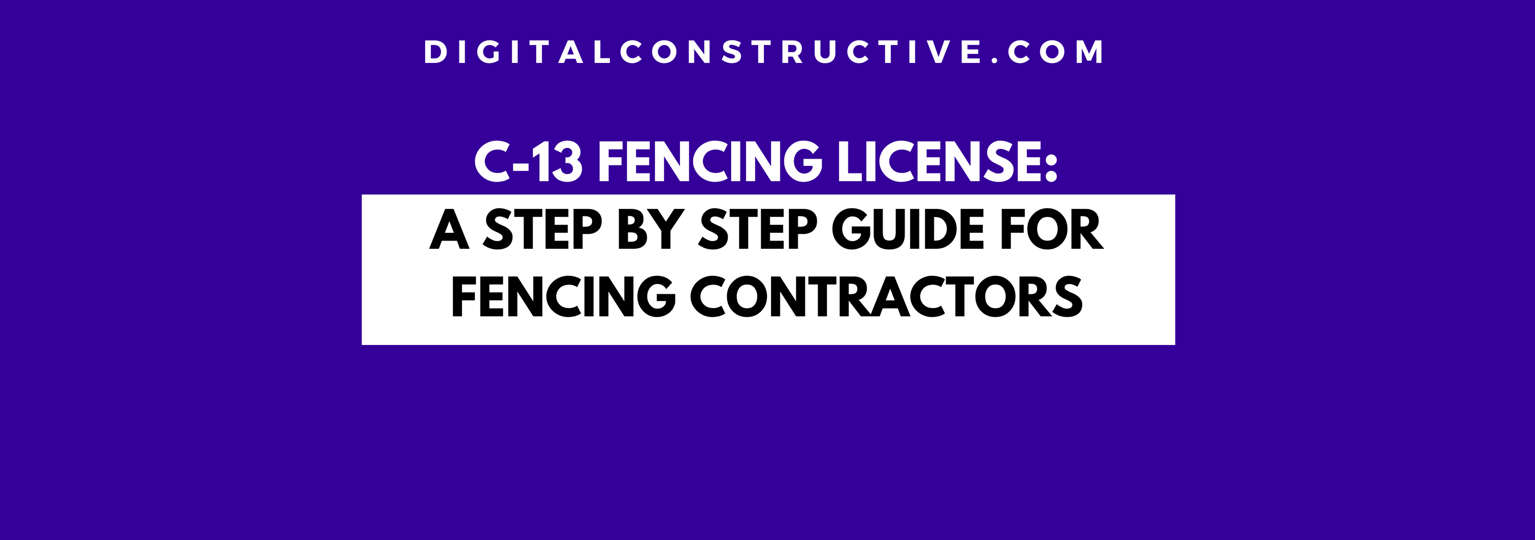 featured image for article on how to get a C-13 fencing license in the state of california