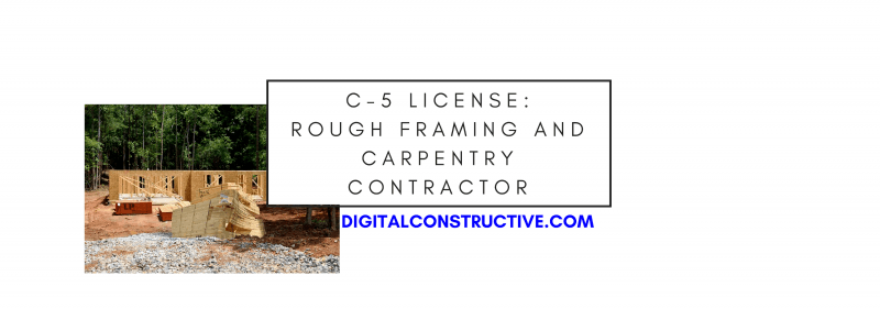 featured image for a blog post about how to get the carpentry license