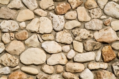 cobble stone wall. studying 15 minutes a day in preparation for your masonry contractor license exam is recommended