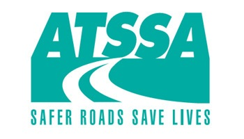 logo for the ATSSA. a government agency dedicated to making roads safeer