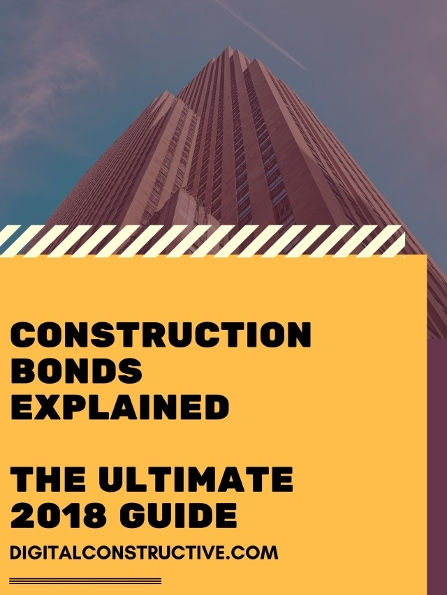 Featured image for a blog post explaining construction bonds