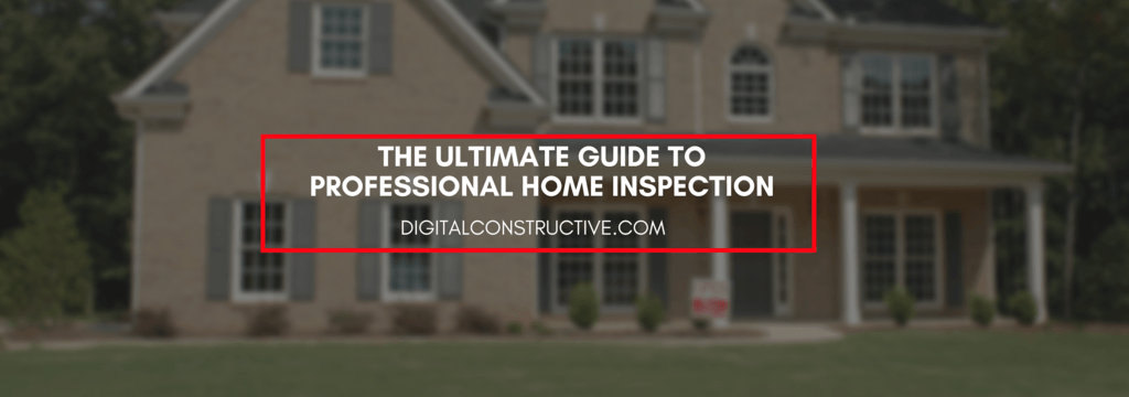 featured image for a blog post about professional home inspection