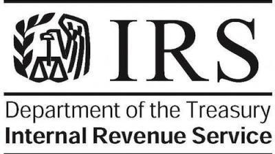 Logo of the IRS, anyone applying for a painting license in california must have an ITIN number issued by the IRS