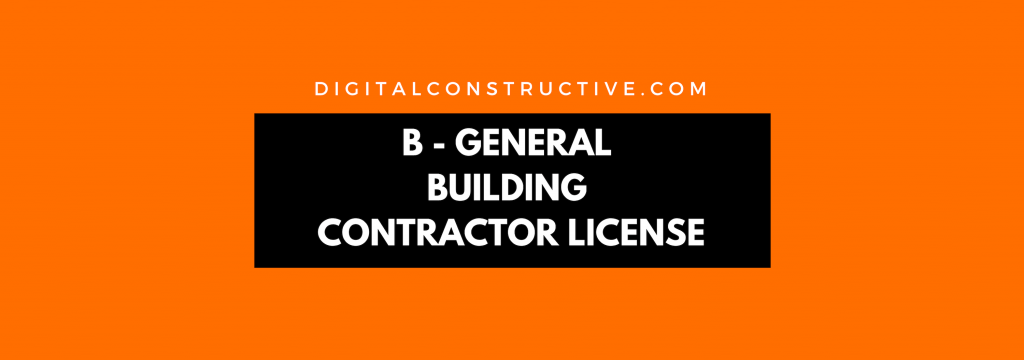 featured image for a blog post about how to get the general contractor license