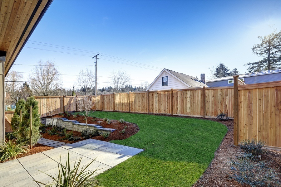 a pristine landscaped backyard. when applying for the C-27 license you may have to prove experience, the CSLB gives you several ways to prove your experience