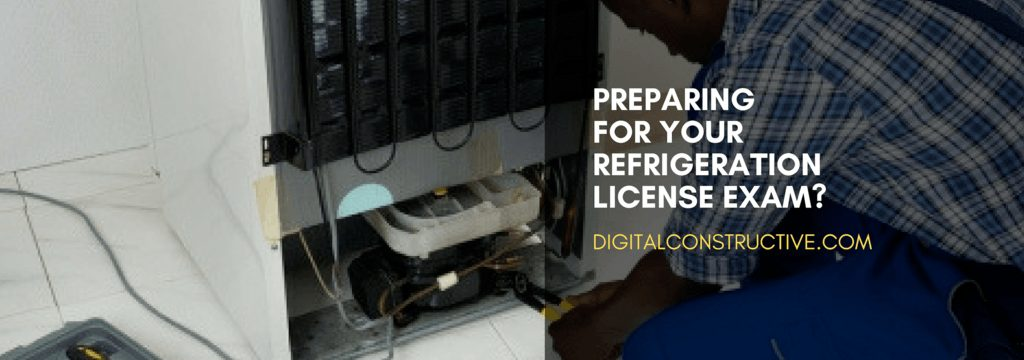 featured image for a blog post about how to prepare for the refrigeration license exam
