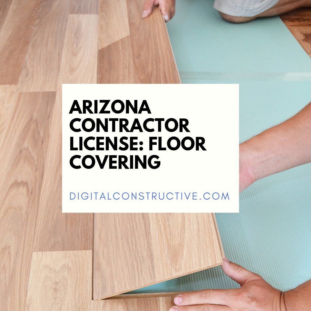 image of a contractor laying a plank down on the floor. guide breaks down everything you need to know to get the arizona flooring license