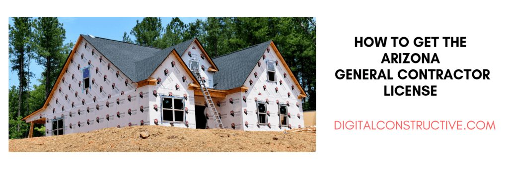 a residential construction job in process. blog covers everythign you need to know to get the arizona general contractor license