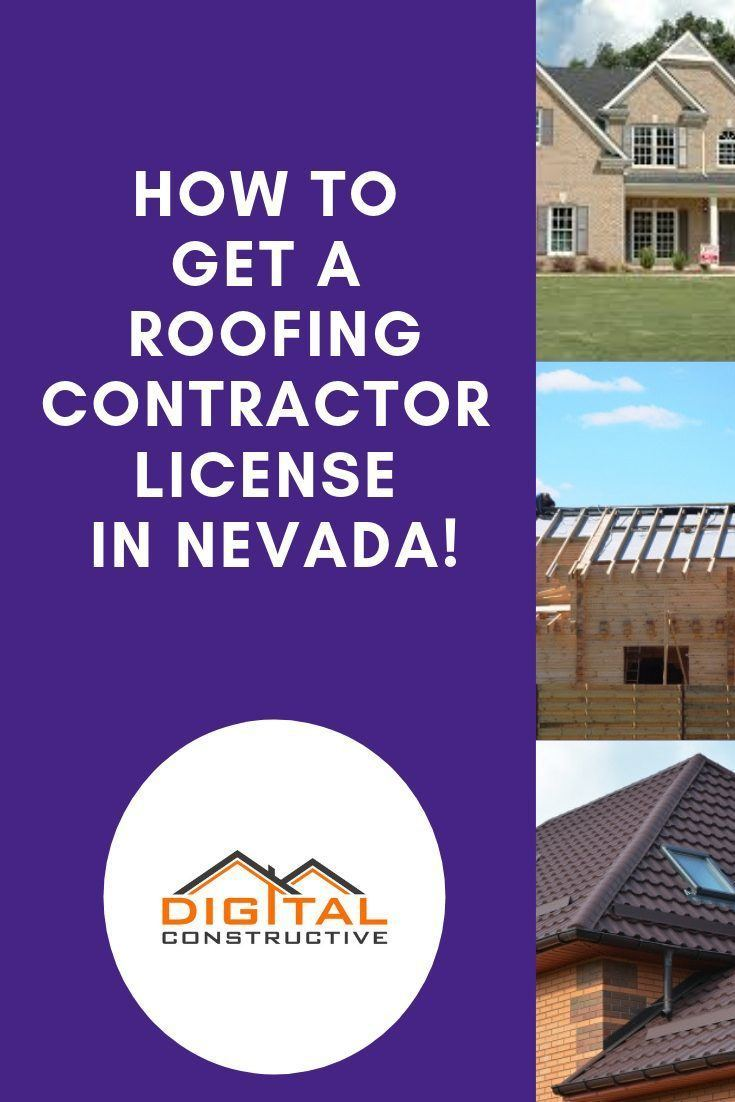 how to get a roofing contractor license in nevada