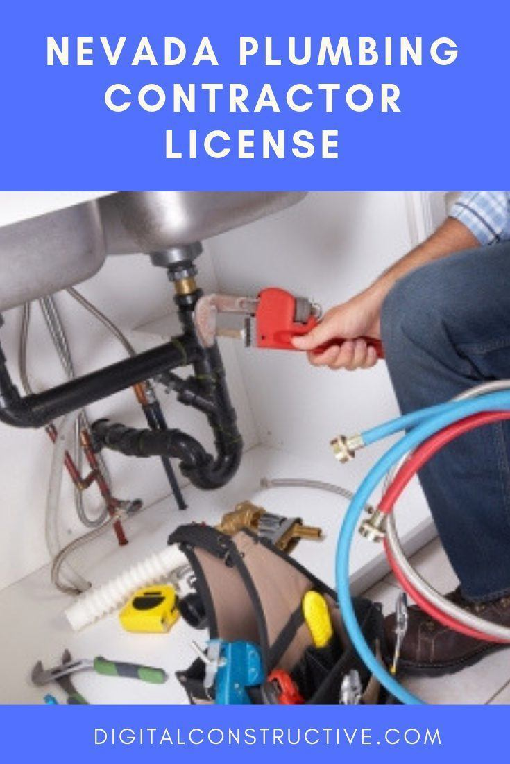 a plumbing contractor fixing a sink. blog post covers everything you need to know to get the nevada plumbing license
