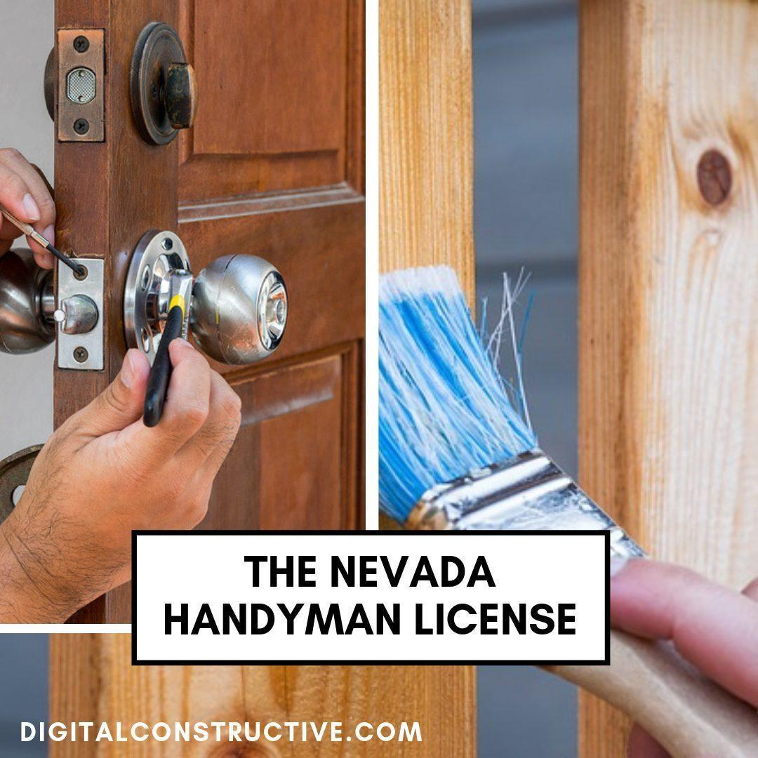 blog post covering the nevada handyman license