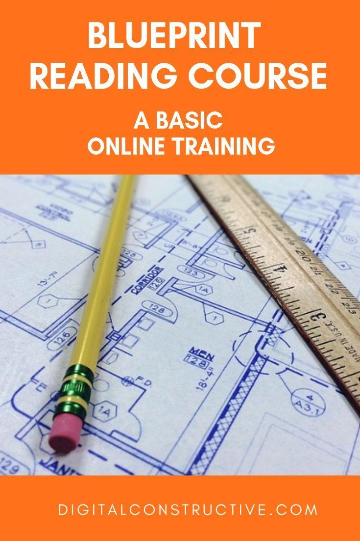 blueprint reading course for those looking to get the general contractor license in california