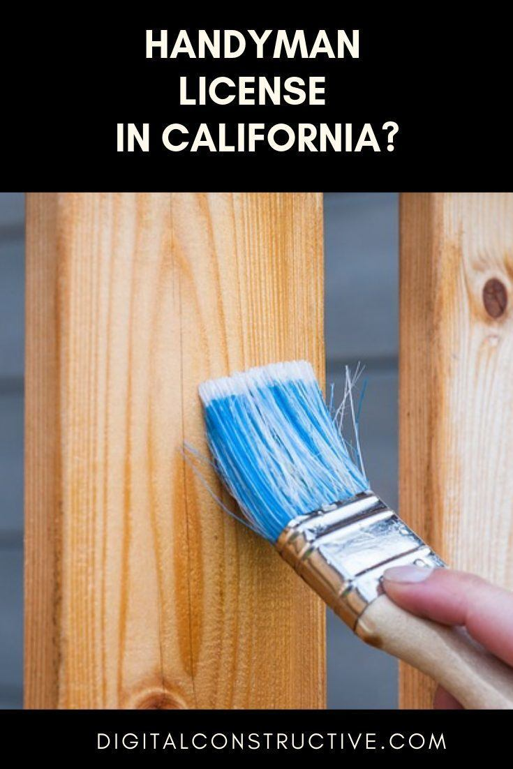 complete california handyman license guide