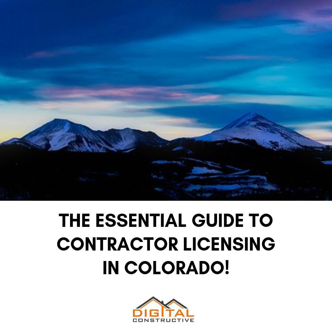 essential guide for contractors looking to get licensed in Colorado