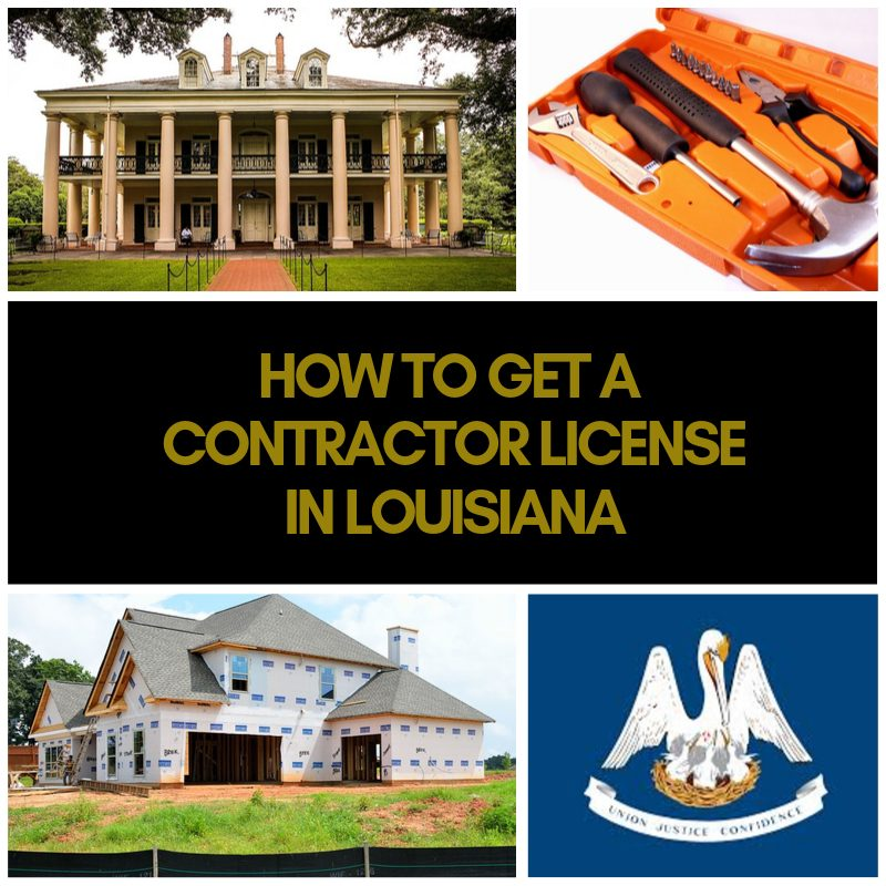 the complete guide to the louisiana contractor license including, requirements, costs, test information, schools, study guides and more