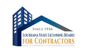 logo of the louisiana state licensing board for contractors