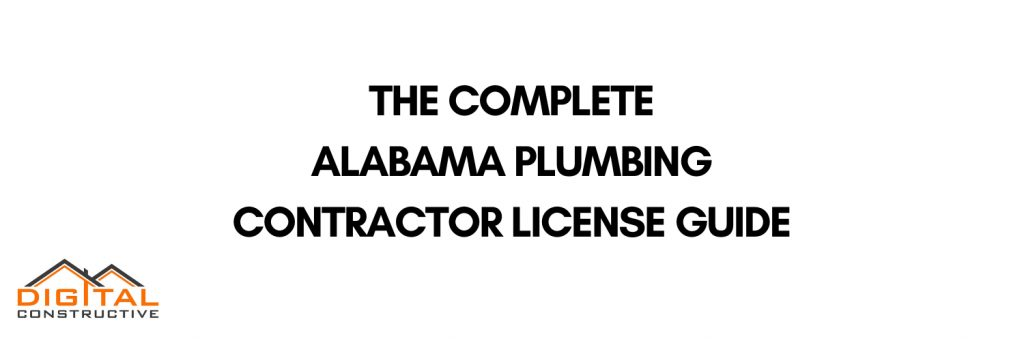 complete alabama plumbing license guide