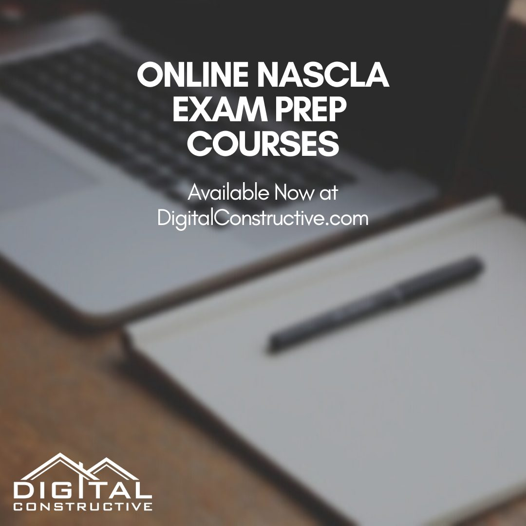 The georgia general contractor license exam is administered by NASCLA
