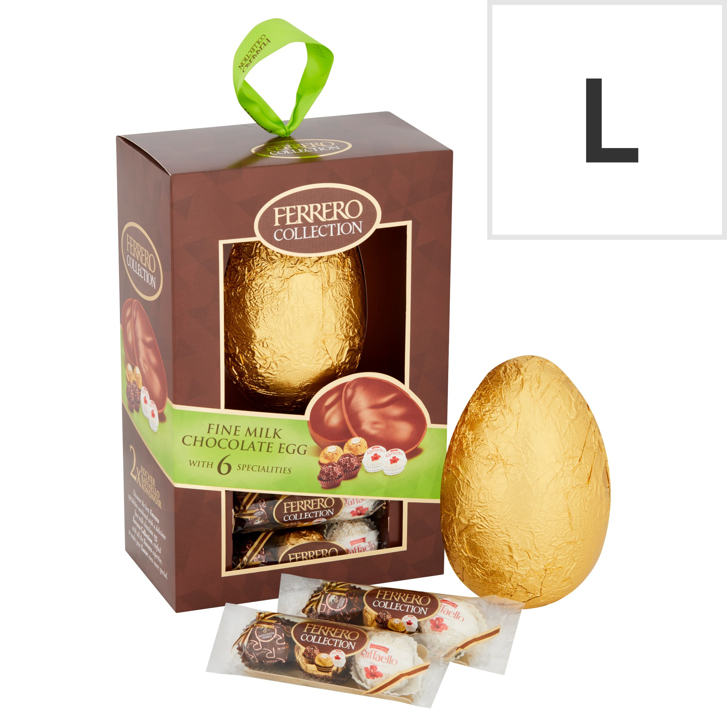 image 1 of Ferrero Collection Milk Chocolate Egg With 6 Specialities 239.8G