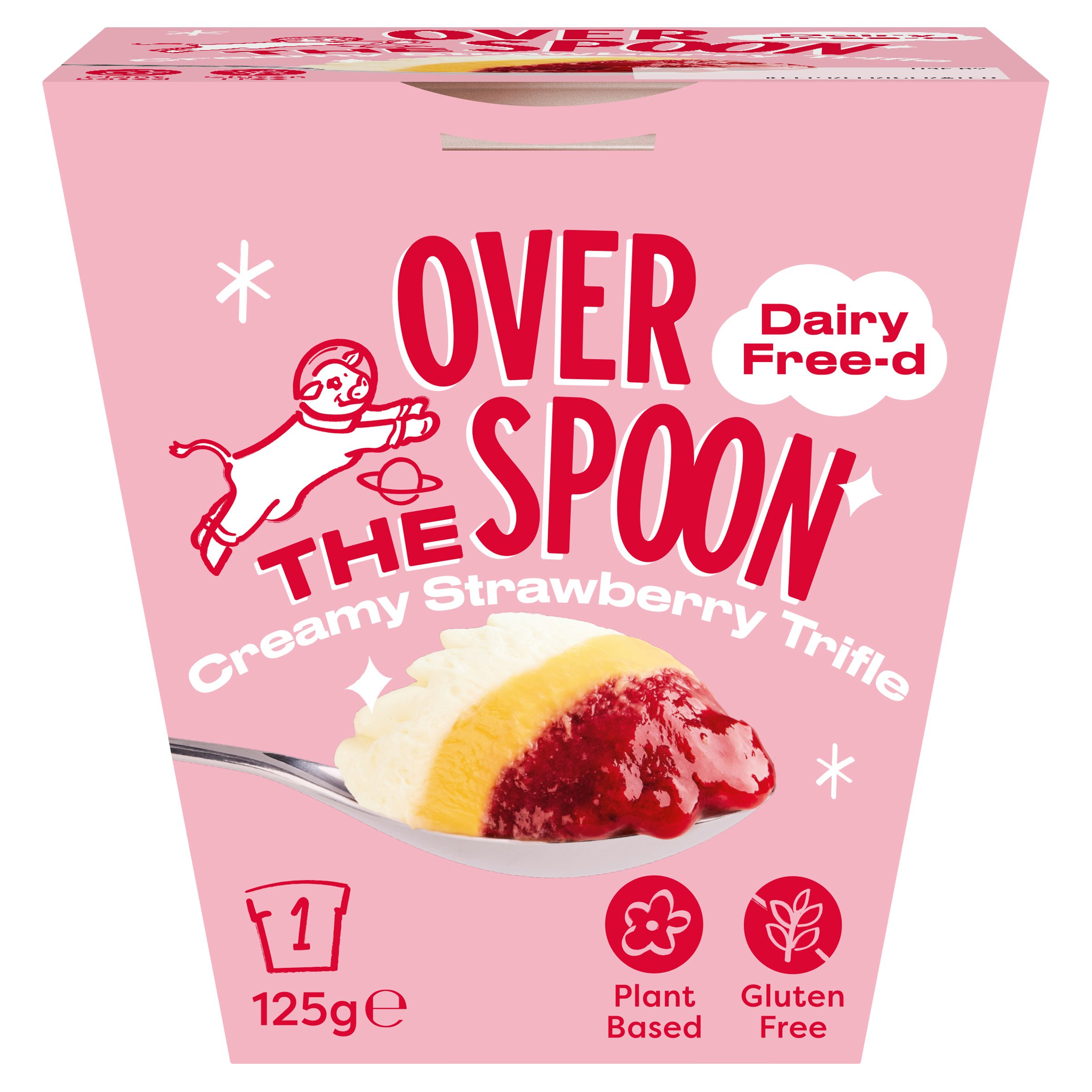 Over The Spoon Strawberry Trifle 125G