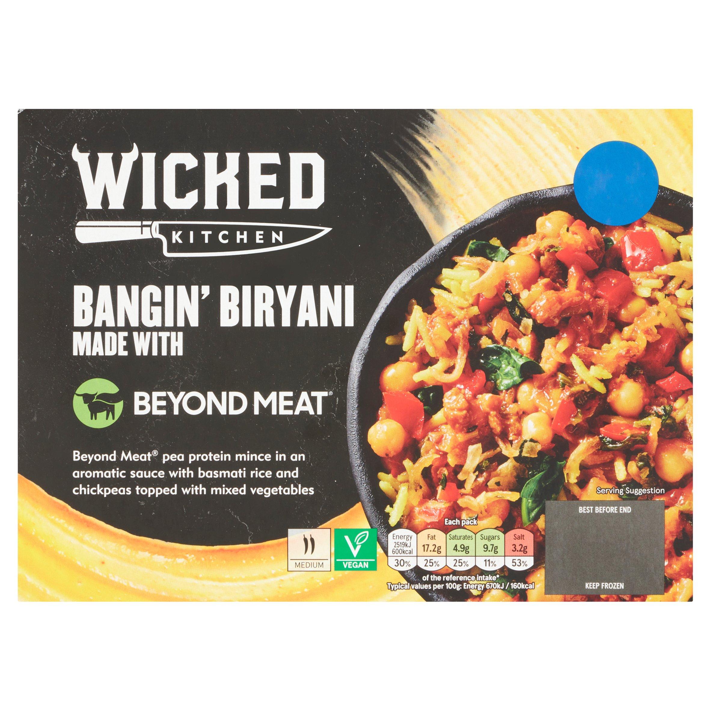 Wicked Kitchen Bangin Biryani Plus Beyond Meat 400G