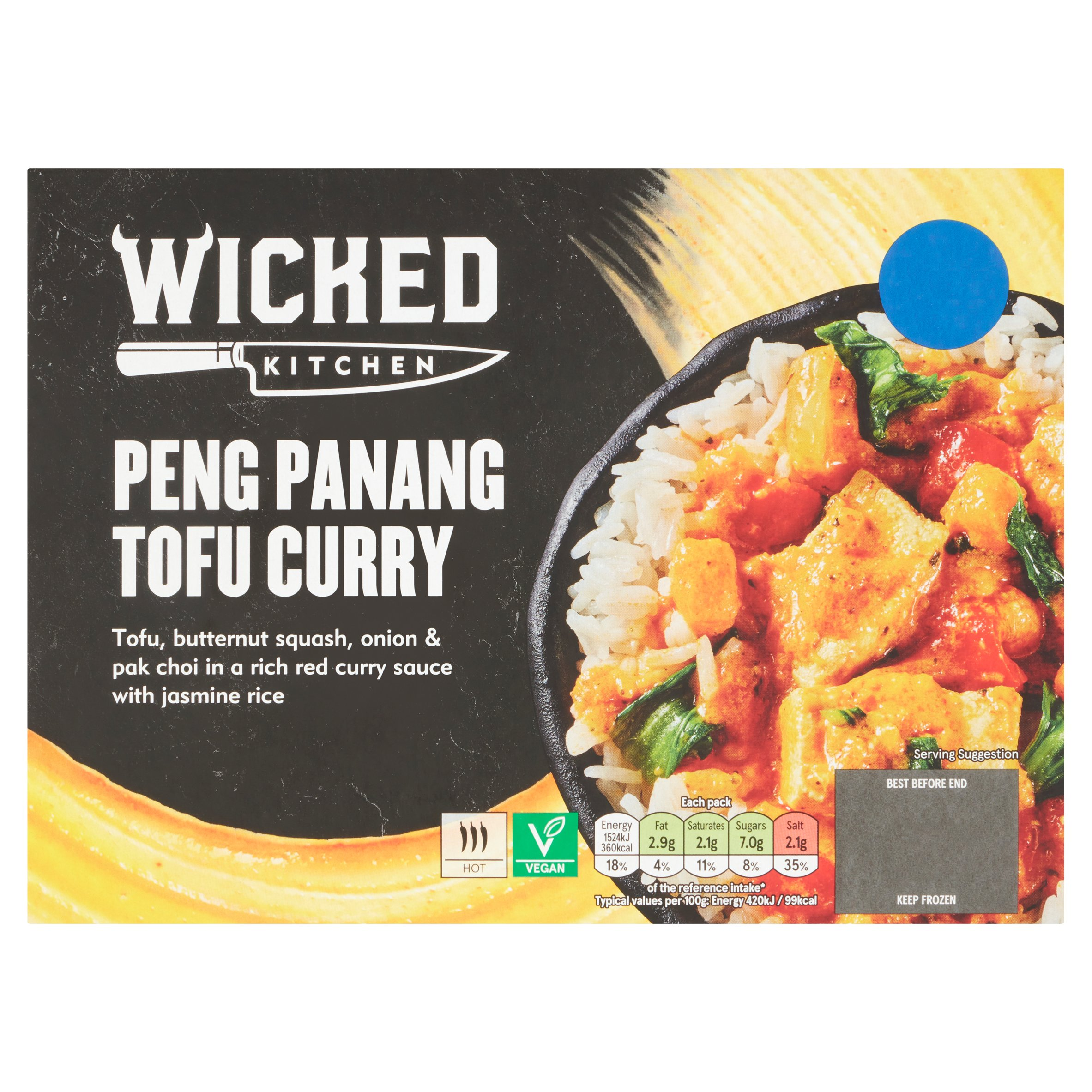Wicked Kitchen Peng Penang Tofu Curry 400G