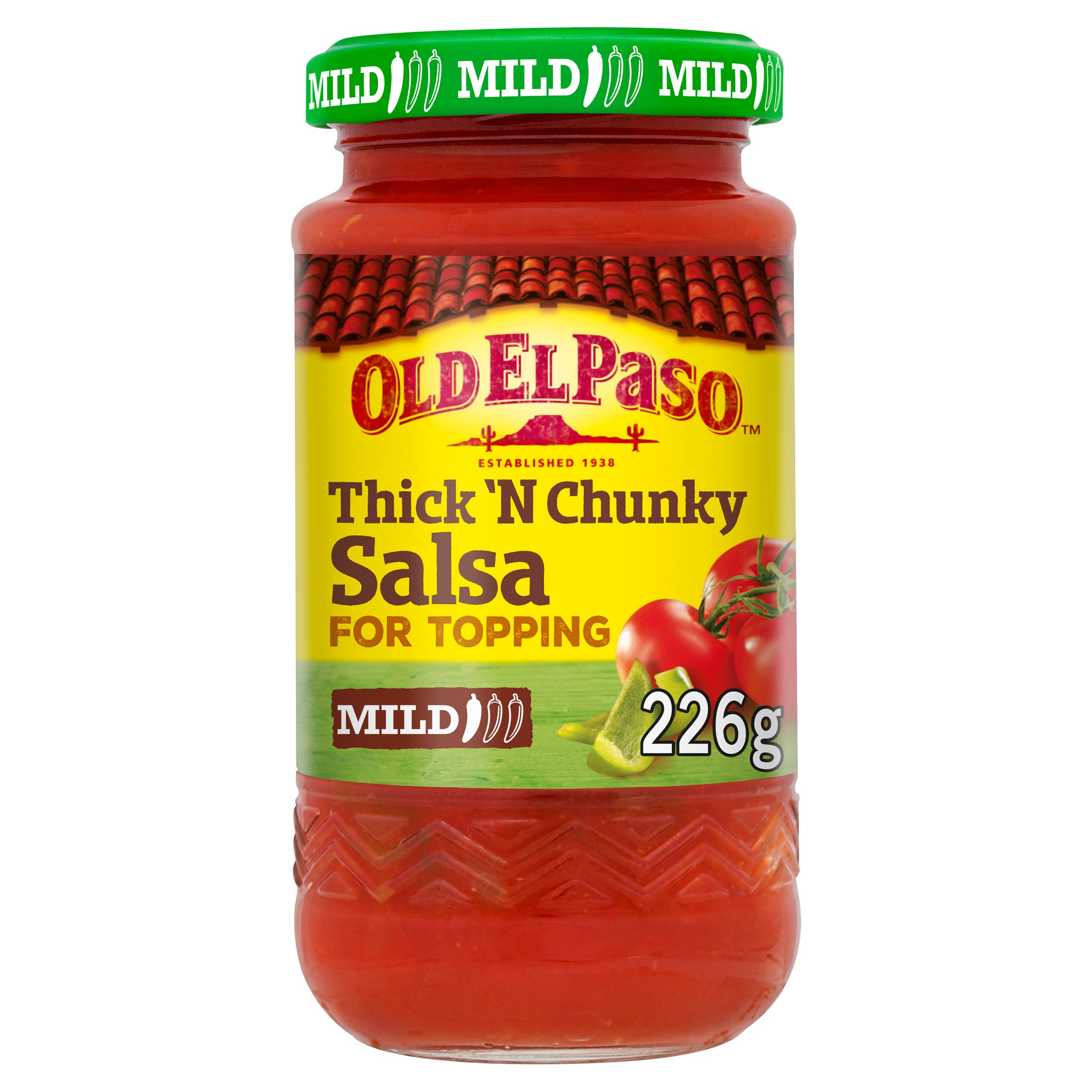 Old Elpaso Thick & Chunky Salsa Mild 226G